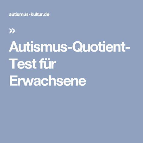 autismus test