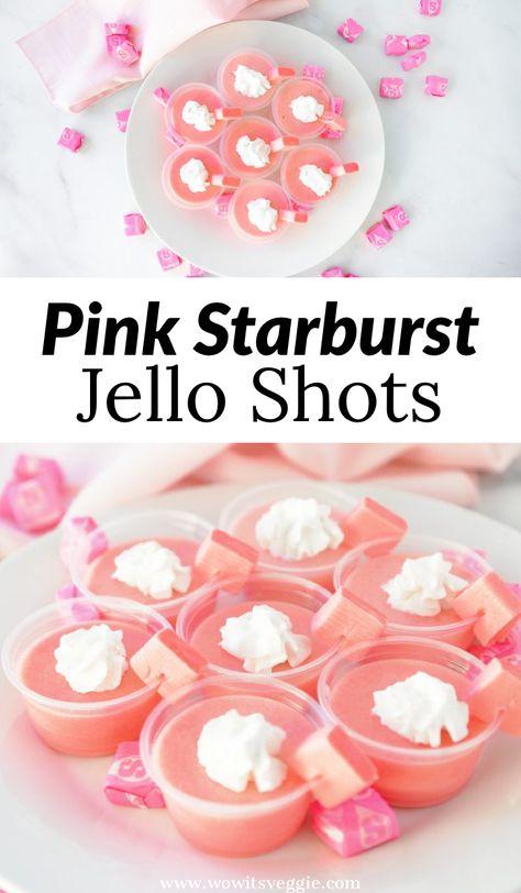 Vegan Jello Shots, Easy Jello Shots, Making Jello Shots, Jello Pudding Shots, Easy Shots, Jello Shots Tequila, Alcohol Jello Shots, Strawberry Jello Shots, Easy Shot Recipes
