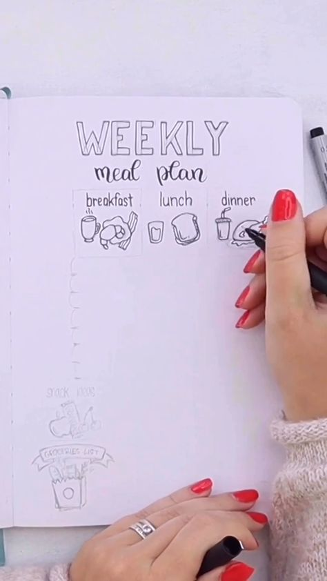 Looking for some Bullet Journal ideas to add to your planner? Check out these 31 Bullet journal spreads you might want to create yourself. Including a plan with me video for each page, Bullet Journal doodles tutorials and printables to make sure you can easily add these pages to your Bullet Journal. #mashaplans #bulletjournaljunkies #bulletjournallayouts #bujoideas