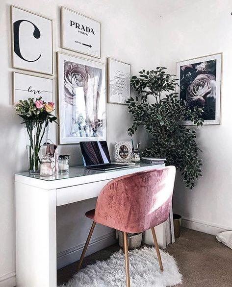 Home office decor ideas | my place | Bureau, Maison e Déco maison