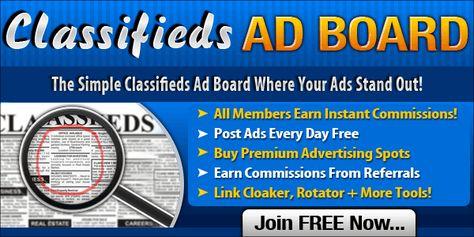 Classifieds Ad Board