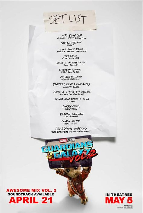 Get 'Guardians of the Galaxy Awesome Mix Vol. 2' Now