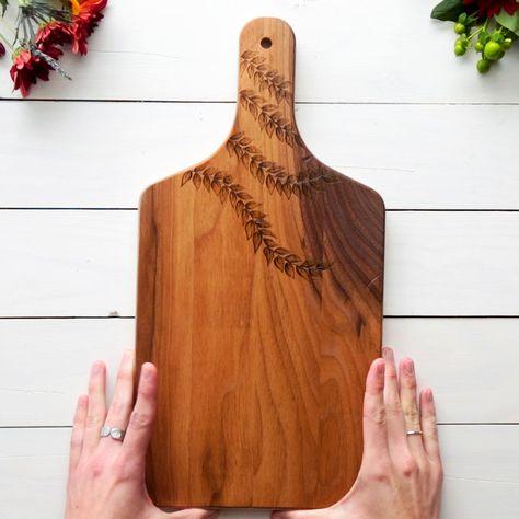 Wood Burned Cutting Board DIY
