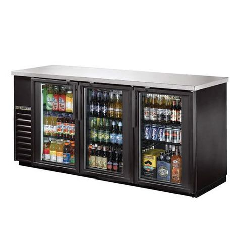 True 72 Inch Glass Swing Door Back Bar Cooler Great For Pool House Or Entertainment Basement Room Man Cave Bar Refrigerator Bars For Home