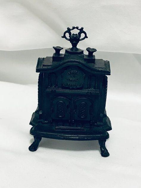 "Mahogany Bench Seat by JBM S0806MH 1:24 Half Scale 3/"" Miniature Dollhouse"