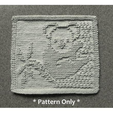 Knitting Pattern Tiny Drops Dishcloth dishcloth knitting pattern washcloth knitting patterns washcloth knitting pattern