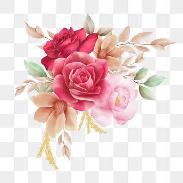 Watercolor Clipart Watercolor Flower Botanical Bouquet Element Template Invitation Decorative S In 2021 Watercolor Flowers Fall Watercolor Watercolor Flower Background
