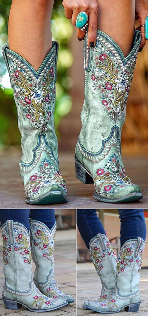 Cowboy Boots Women, Western Boots, Blue Cowgirl Boots, Bohemian Shoes, Chloe Boots, Wedding Boots, Fringe Boots, Martin Boots, Casual Boots