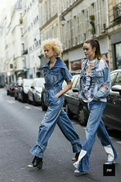 double denim, loving these looks!