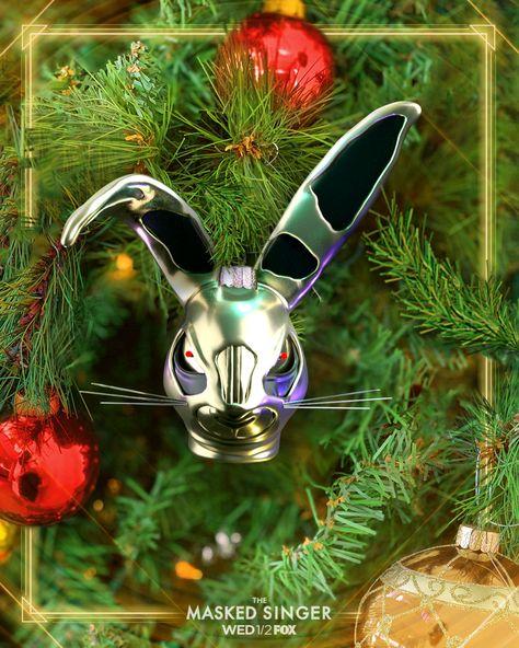 The Masked Singer Ornament Rabbit Singer Singer Costumes Rabbit Season
