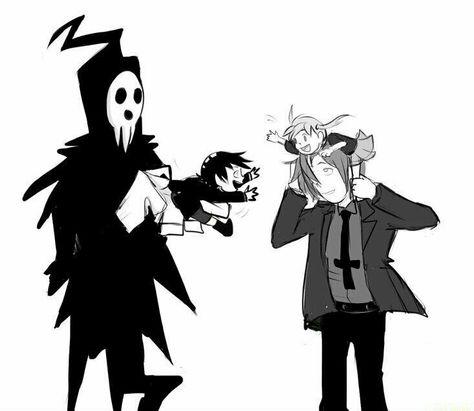 Lord Death Spirit Albarn Maka Albarn Death The Kid