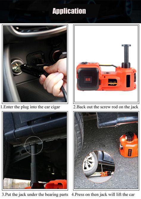 Aliexpress com : Buy Electric Tire Lifting Car Jacks