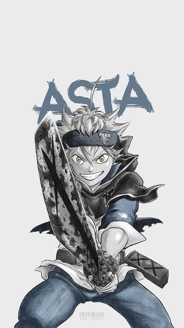 Asta Black Clover Wallpaper Anime Kawaii Personagens De Anime Anime