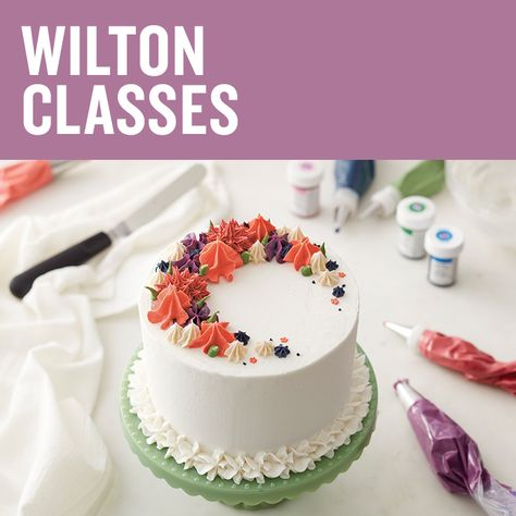 Michaels Cake Decorating Class Sign Up Inspiration 152 Best The Wilton Method Images On Pinterest  Petit Fours Decorating Inspiration