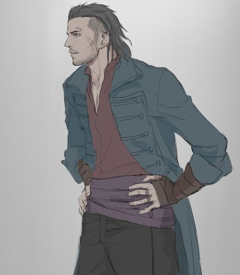 Victor Suave - bard and Emeline's ex lover from Palanthas Fantasy Character Design, Character Creation, Character Concept, Character Art, Final Fantasy Xv, Fantasy Male, Dnd Characters, Fantasy Characters, Fantasy Inspiration