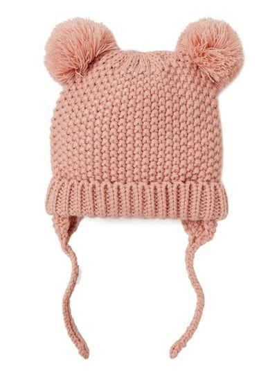 Pompom Hat Hats And Scarves Baby Girl Accessories Kids Zara United Kingdom Pom Pom Hat Baby Girl Accessories Pom Pom