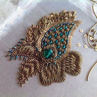 Les plus beaux et derniers modèles de l'art de planter ou de broder des perles