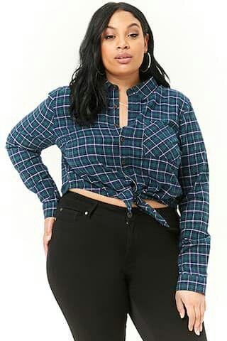 48++ Plus size womens flannel shirts ideas ideas