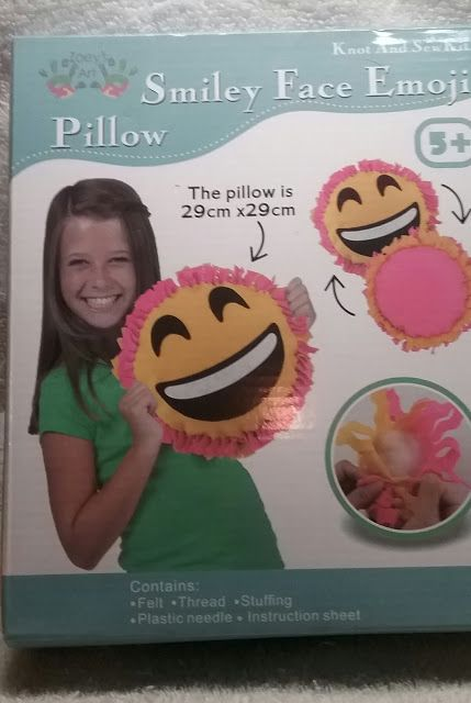 Big Smile Face Emoji Sew And Stuff Kit Sewing For Kids Arts And Crafts Projects Arts And Crafts