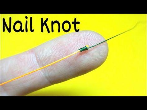 Soedinitelnyj Uzel Nail Knot Kak Svyazat Lesku Mezhdu Soboj Lajfhaki I Samodelki Rybalka 2021 Youtube In 2021 Fishing Knots Knots Fly Tying