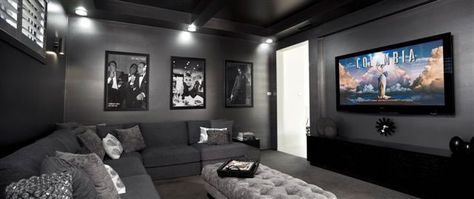 Interior Design For Living Room Theater | Ideas For The House | Pinterest |  Living Rooms, Room And Theatre Design Part 56