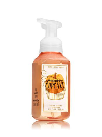 Pumpkin Cupcake Gentle Foaming Hand Soap Bath And Body Works