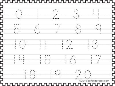 Daycare Worksheets Printable