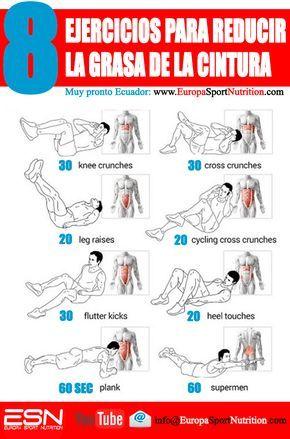 ejercicio para reducir la cintura