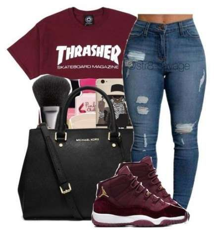 outfits with jordans girls