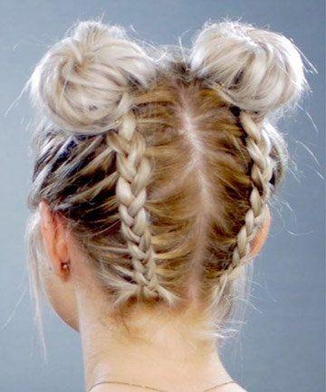 11 Surprisingly Easy Braids For Short Hair In 2020 Thick Hair Styles Braided Hairstyles Braided Hairstyles Easy