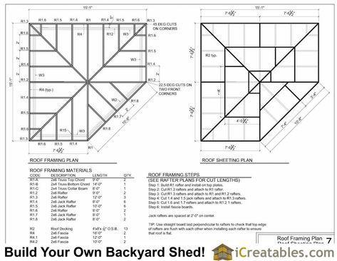 5 Sided Corner Shed Roof Framing Plans Corner Sheds Shed Roof Free Shed Plans