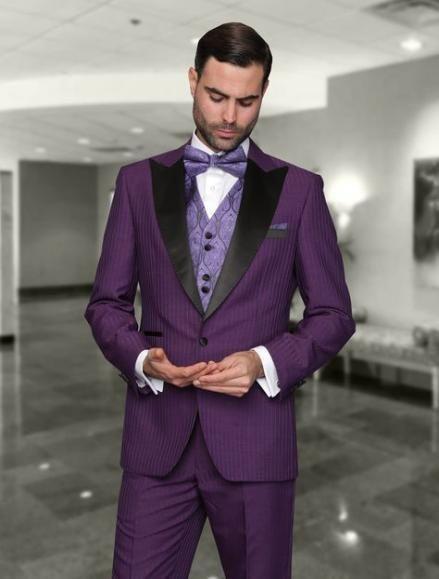 Wedding Suits Men Purple Bridesmaid Dresses 30 Ideas Party