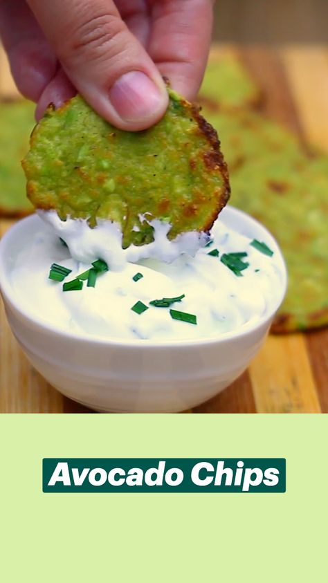 Avocado Chips Recipe and Video