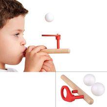 86d4f358dd05b Enigma De Madeira Brinquedos do bebê Crianças Treino De Equilíbrio Bola de  Sopro Bola de Sopro