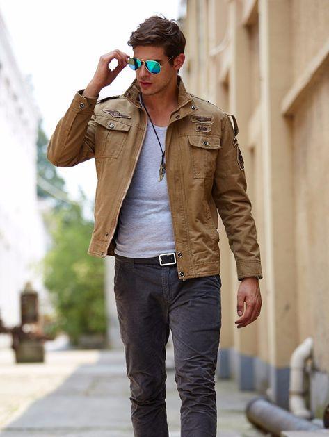 Tawill Brand Men Autumn Military Army Style Cotton Jacket Plus Sizes 8331