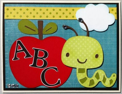 Back to School Cricut Cardz Challenge 1