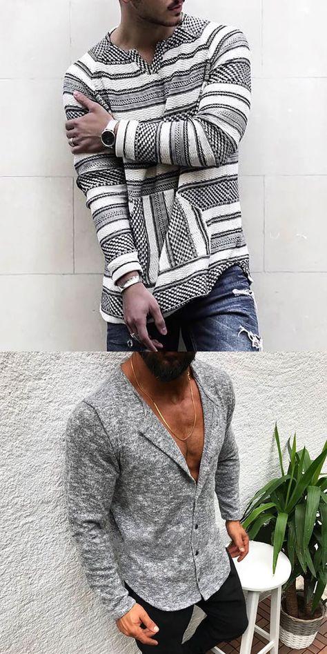 Grey Fashion Shirts