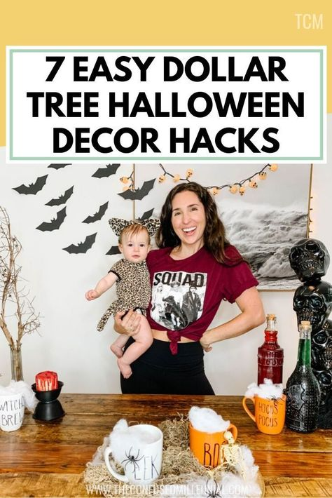 7 Easy Dollar Tree Halloween Decoration Diy Ideas You Need To Try