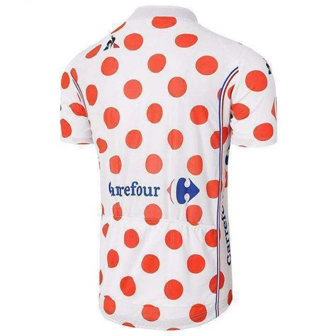 Tour De France Carrefour Cycling Jersey  bf7f472ac