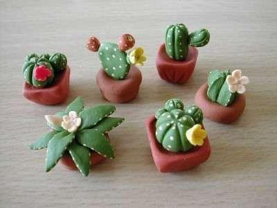 Lavoretti Con Il Das Per La Mamma Cactus Diy Make Your