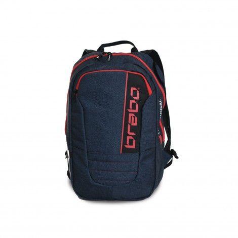 1560f7abe61 Brabo Backpack Traditional Denim hockeytas junior blue red