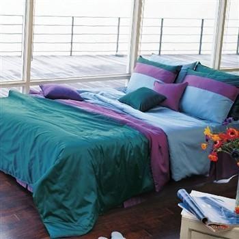 Sateen Solid Turquoise Purple Duvet Cover Set In 2021 Purple Duvet Purple Duvet Cover Purple Bedding Sets
