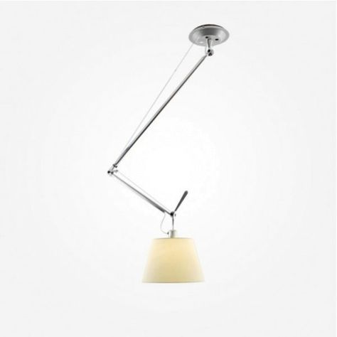 Tolomeo Sospensione Decentrata Hanglamp Artemide Hanglamp Lampen En Verlichtingsarmaturen