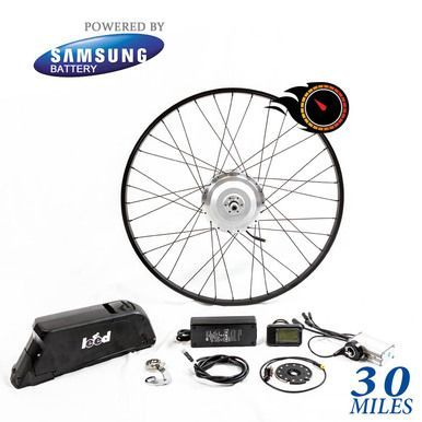 Shop Online For The Leed 500w Electric Bike Conversion Kit That Installs On Any Bicycle And Convert Your Bike To E Bike Sepeda