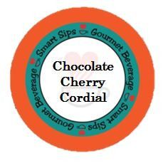 Chocolate Cherry Cordial Coffee, 24 Count, Compatible With All Keurig K-cup Brewers