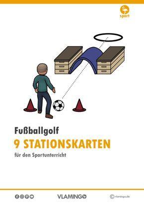 Fussballgolf Stationen Sport School Sports Kids Sports
