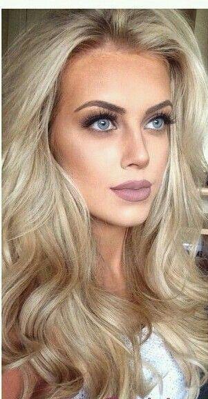 Gorgeous Hair And Makeup Makeuplooks Blonde Hair Makeup Blonde