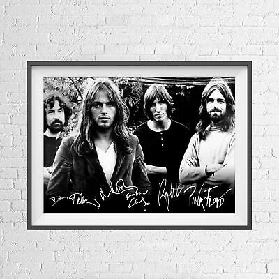 PINK FLOYD CLASSIC POP MUSIC SIGNATURE POSTER PICTURE PRINT Sizes A5 to A0 *NEW*