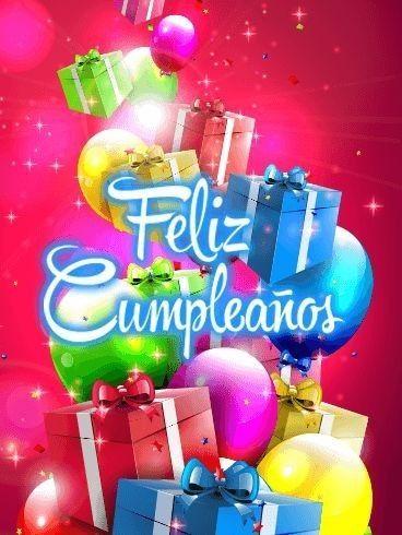 Feliz Cumpleanos Frases Bonitas Para Descargar En Facebook Happy Birthday Fireworks Happy Birthday Cards Happy Birthday Greetings