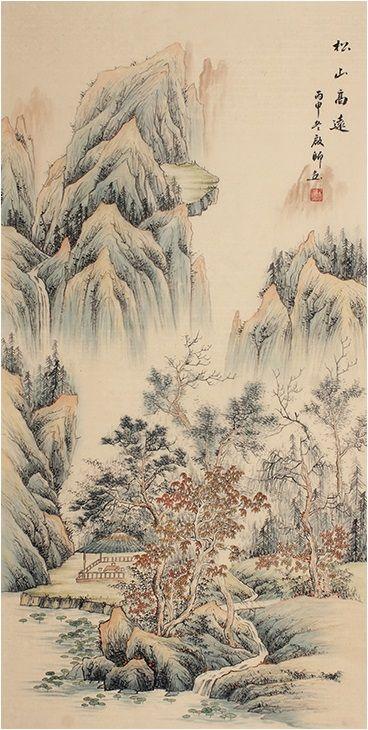 Artists Classic Best Painting Modern Art Famous Chinese Landscape Painting Chinese Landscape Painting Chinese Landscape Landscape Paintings